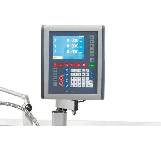 Maszyna jest wyposażona w cyfrowy wyświetlacz pozycji (dokładność odczytu0,005mm). - 403 - zdjęcie 3