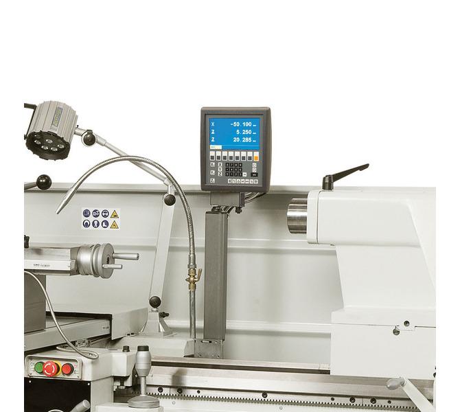 W wyposażeniu standardowym 3-osiowy cyfrowy wyświetlacz ułatwia pracę i zwiększa precyzję obróbki. - 407 - zdjęcie 8