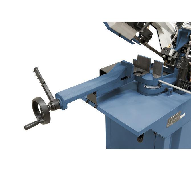 Masywne imadło z żeliwa szarego wyposażone jest w szybkie ryglowanie - optymalne do prac seryjnych.  - 460 - zdjęcie 4
