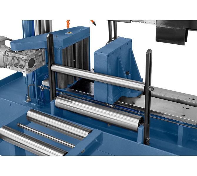 Posuw za pomocą silnikowo napędzanych rolek zapewnia optymalny transport materiału - 478 - zdjęcie 3