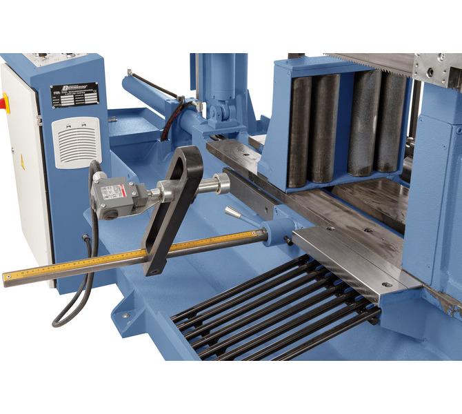 Ręczne nastawianie długości materiału za pomocą mikrowyłącznika, wprowadzanie i kontrola liczby sz... 480 - zdjęcie 2