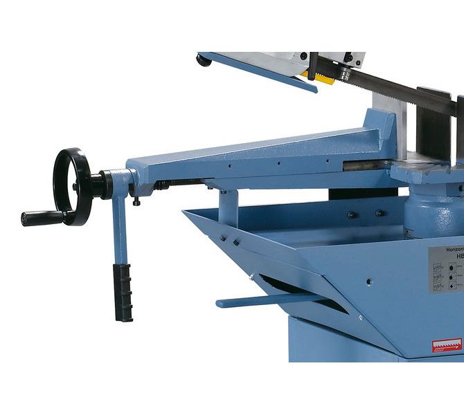 Masywne imadło z żeliwa szarego wyposażone jest w szybkie ryglowanie - optymalne do prac seryjnych.  - 493 - zdjęcie 6