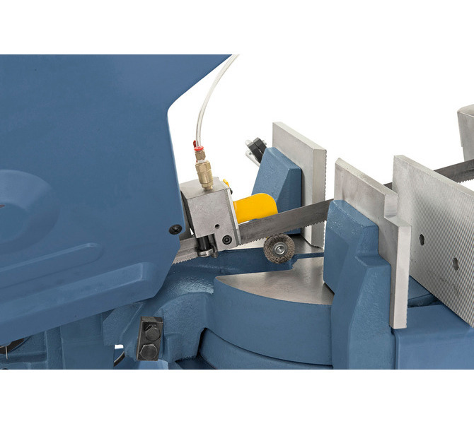 Prowadnica piły oparta na precyzyjnych łożyskach kulkowych i szczotka opiłków zapewnia optymalne rez... 510 - zdjęcie 2