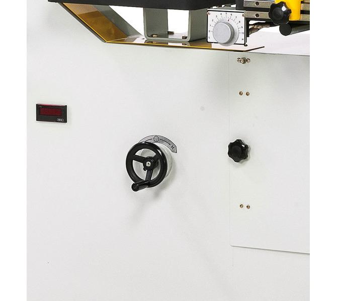 Pionowa przecinarka taśmowa VMS 1000 A z automatycznym posuwem stołu ** BERNARDO - 525 - zdjęcie 9