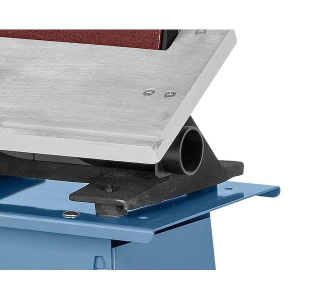 W wyposażeniu standardowym z wbudowanym króćcem odsysania pod stołem szlifierskim wychylnym w zakresi... 575 - zdjęcie 3