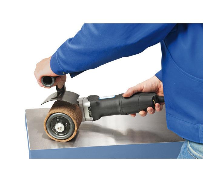 Opcjonalnie wyposażona w pompkę gumowej rolki, która dostosowuje się do szlifowanej powierzchni - 605 - zdjęcie 5