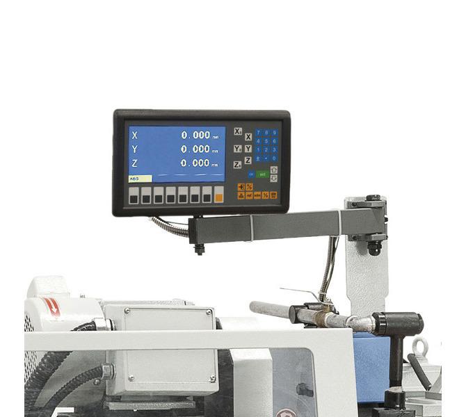 W wyposażeniu standardowym 2-osiowy cyfrowy wyświetlacz ułatwia pracę i zwiększa precyzję obróbki - 618 - zdjęcie 3