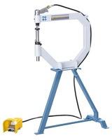 Giętarka do blachy - Angielskie koło, pneumatyczne urządzenie do polerowania i spęczania PGH 500 BERNARDO