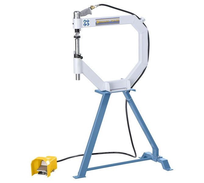 Giętarka do blachy - Angielskie koło, pneumatyczne urządzenie do polerowania i spęczania PGH 500 BERN... 699 - zdjęcie 1