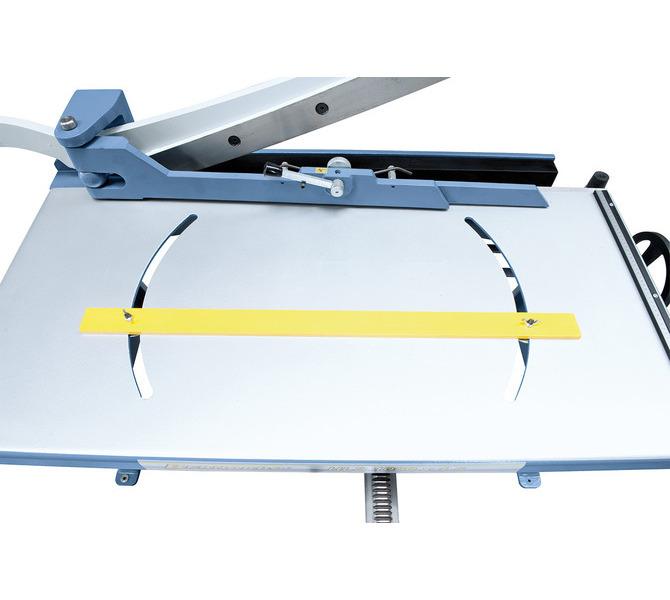 Nożyce gilotynowe ręczne - stołowe HLS 1050 x 1,5 * BERNARDO - 852 - zdjęcie 5
