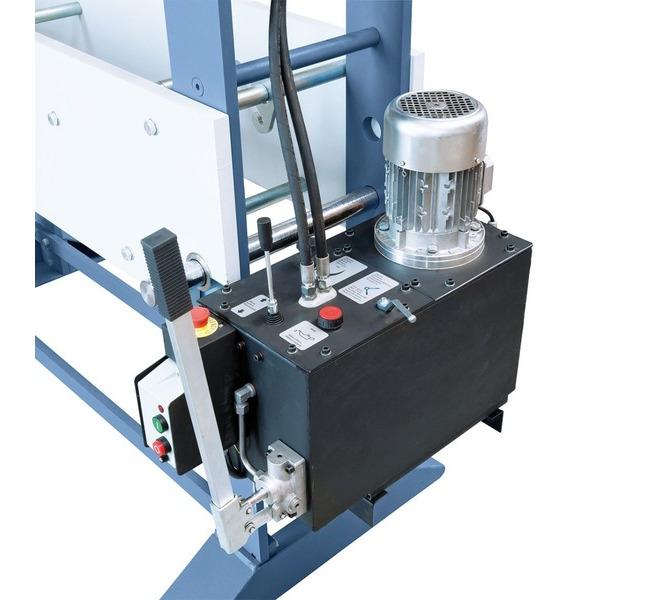 Der Kolbenhub erfolgt wahlweise mittels Handhebel oder Hydraulikpumpe. - 908 - zdjęcie 5