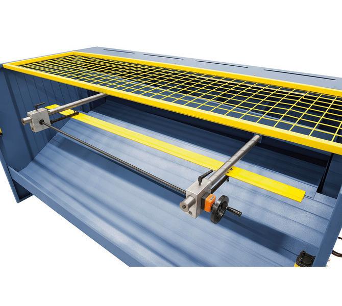 Robuster Hinteranschlag, einstellbar mittels Handrad. - 935 - zdjęcie 7