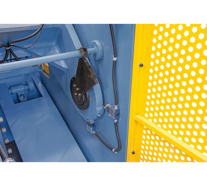 Schnittspaltverstellung - einfaches und schnelles Einstellen auf die gewünschte Blechdicke. - 941 - zdjęcie 7