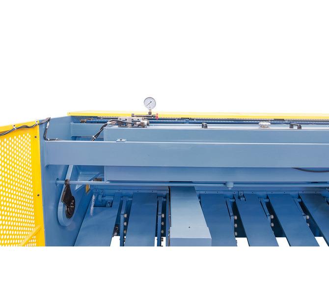 Gilotyna, nożyce gilotynowe hydrauliczne HST 3200 x 8 mm ** BERNARDO - 941 - zdjęcie 8