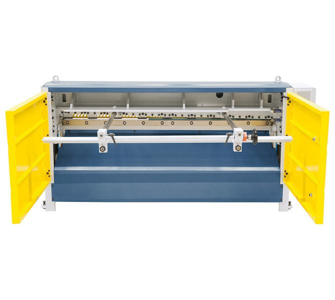 Gilotyna, nożyce gilotynowe mechaniczne MTA 2060 x 3 (sterowanie ręczne) BERNARDO - 951 - zdjęcie 4