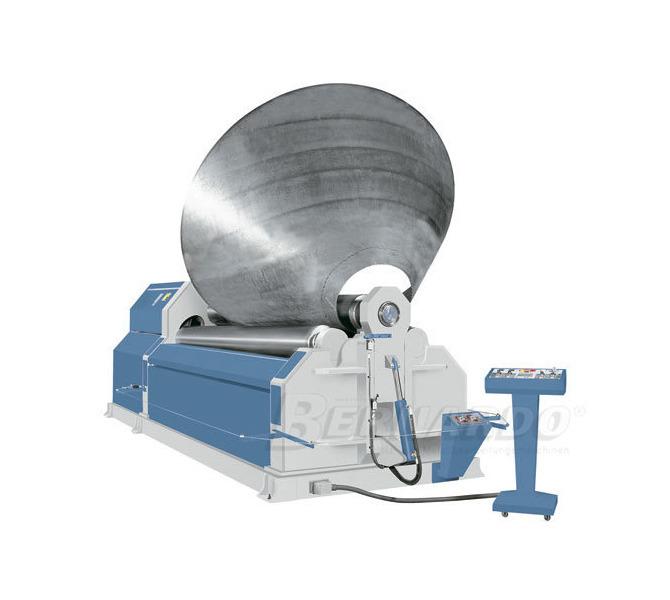 Hydrauliczna walcarka 4 rolkowa AHS 2600 - 8,0 ** BERNARDO - 1000 - zdjęcie 1