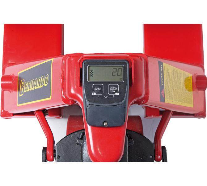 Wózek paletowy z wagą PHW 2,0 W ECO  BERNARDO - 1027 - zdjęcie 4