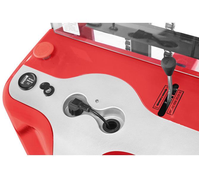 Elektryczny wózek paletowy - masztowy wysokiego podnoszenia EHS 1000 - 1.6 * BERNARDO - 1041 - zdjęcie 4