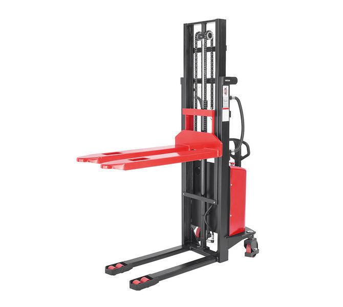 Elektryczny wózek paletowy - masztowy wysokiego podnoszenia EHS 1500 - 2.5 * BERNARDO - 1045 - zdjęcie 2