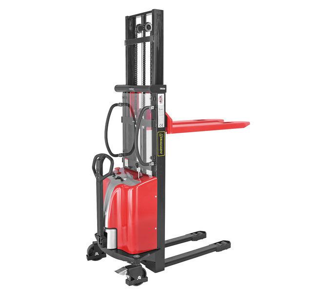 Elektryczny wózek paletowy - masztowy wysokiego podnoszenia EHS 1500 - 3 * BERNARDO - 1046 - zdjęcie 1