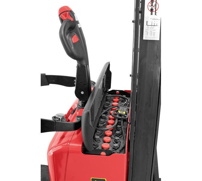 Elektryczny wózek paletowy EDS 1250 - 3.1 * BERNARDO - 1052 - zdjęcie 6