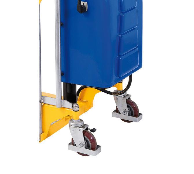 Wózek paletowy - masztowy wysokiego podnoszenia GH 1500 E BERNARDO - 1073 - zdjęcie 4