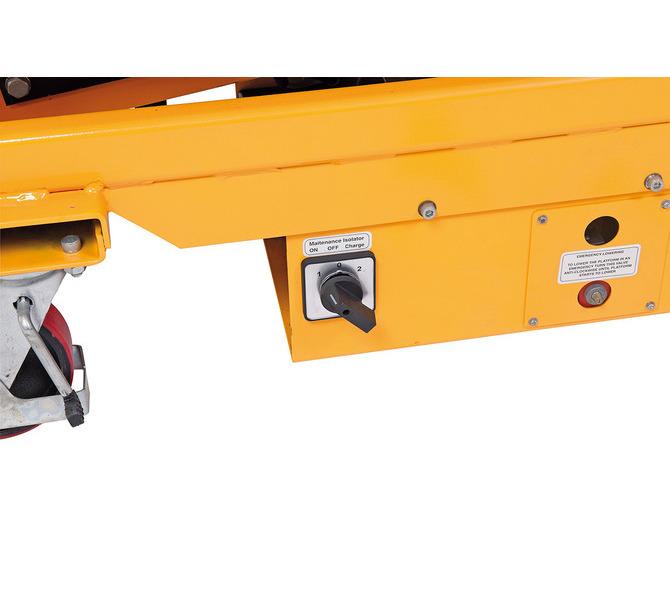 Elektryczna platforma podnośnikowa ES 500 BERNARDO - 1075 - zdjęcie 6