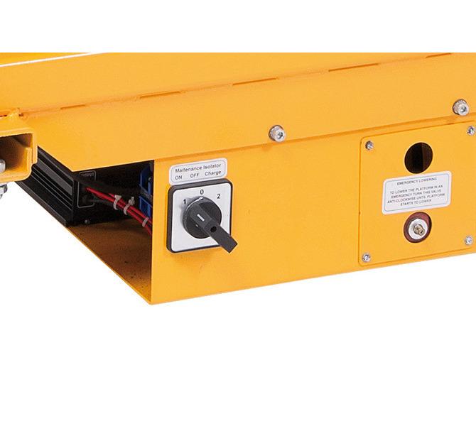 Elektryczna platforma podnośnikowa - nożycowa ES 500 D BERNARDO - 1078 - zdjęcie 8