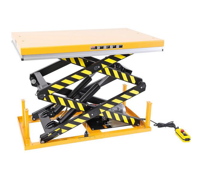 Platforma podnośnikowa - stół podnośny nożycowy SSHT 1000 D BERNARDO - 1095 - zdjęcie 1