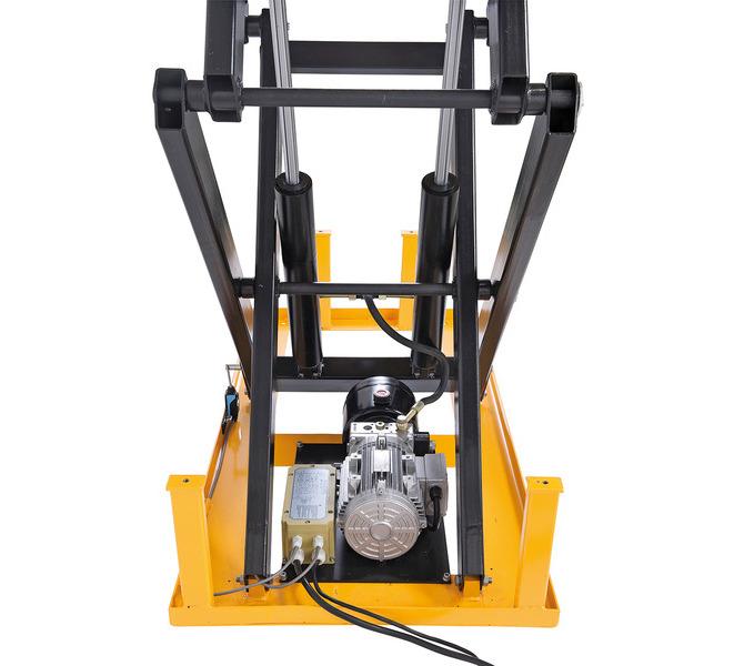 Platforma podnośnikowa - stół podnośny nożycowy SSHT 1000 D BERNARDO - 1095 - zdjęcie 4