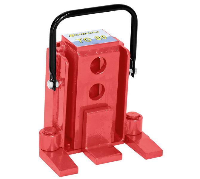 Podnośnik hydrauliczny do ciężkich materiałów, maszyn TG 80 BERNARDO - 1139 - zdjęcie 1