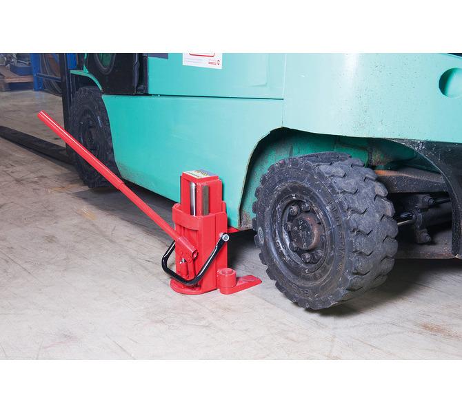 Podnośnik hydrauliczny do ciężkich materiałów, maszyn TG 80 BERNARDO - 1139 - zdjęcie 3