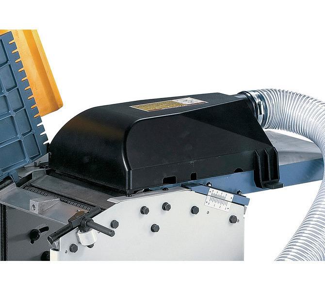 Zintegrowany kaptur do odciągu wiórów może być wykorzystywany gdy maszyna pracuje jako strugarka wzg... 1194 - zdjęcie 7