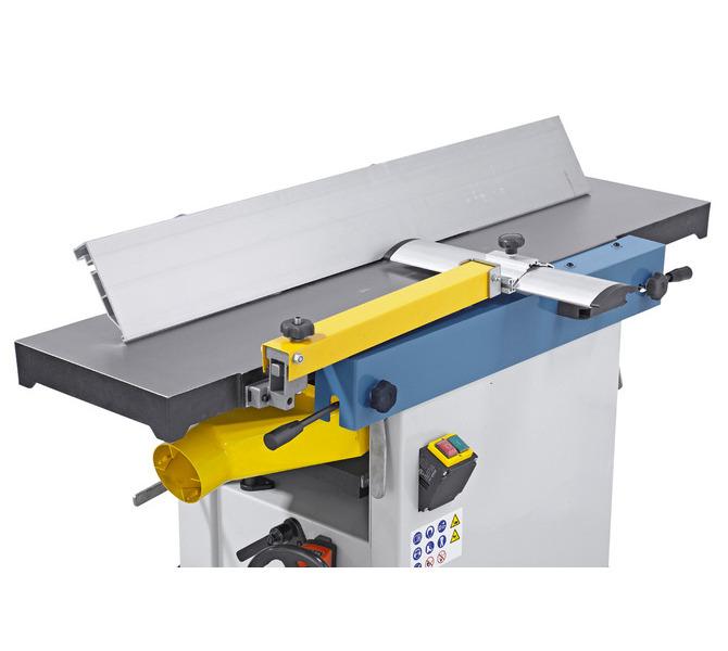 Długi, wykonany z aluminium ogranicznik strugania gwarantuje dzięki dużej powierzchni stykowej precyzy... 1200 - zdjęcie 8