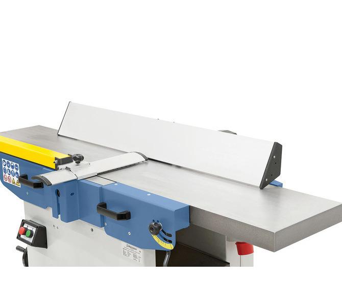 Długi, wykonany z aluminium ogranicznik strugania gwarantuje dzięki dużej  powierzchni stykowej precyz... 1208 - zdjęcie 8