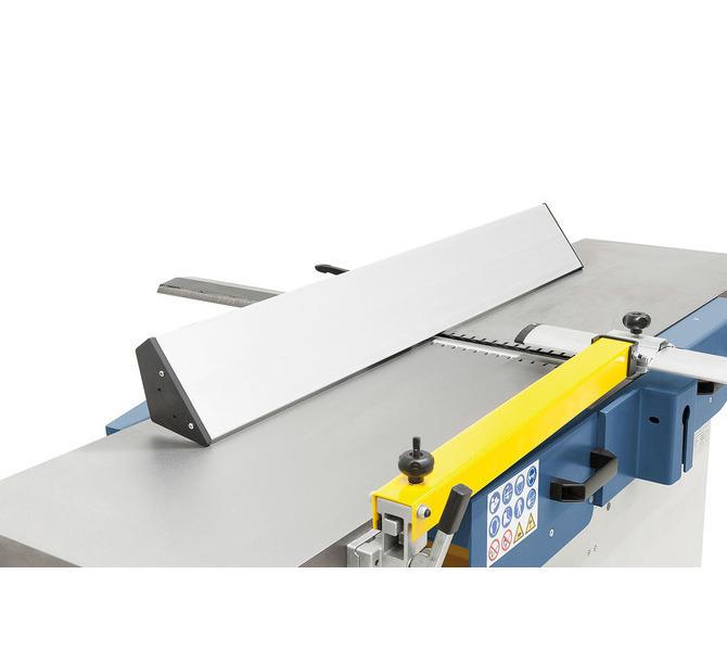 Długi, wykonany z aluminium ogranicznik strugania gwarantuje dzięki dużej  powierzchni stykowej precyz... 1209 - zdjęcie 8