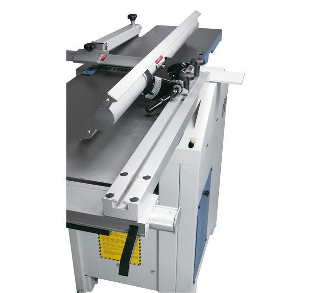 Bocznieprowadzonyogranicznik pozwala zaoszczędzić dużo miejsca podczas ustawiania maszyny.  - 1212 - zdjęcie 6