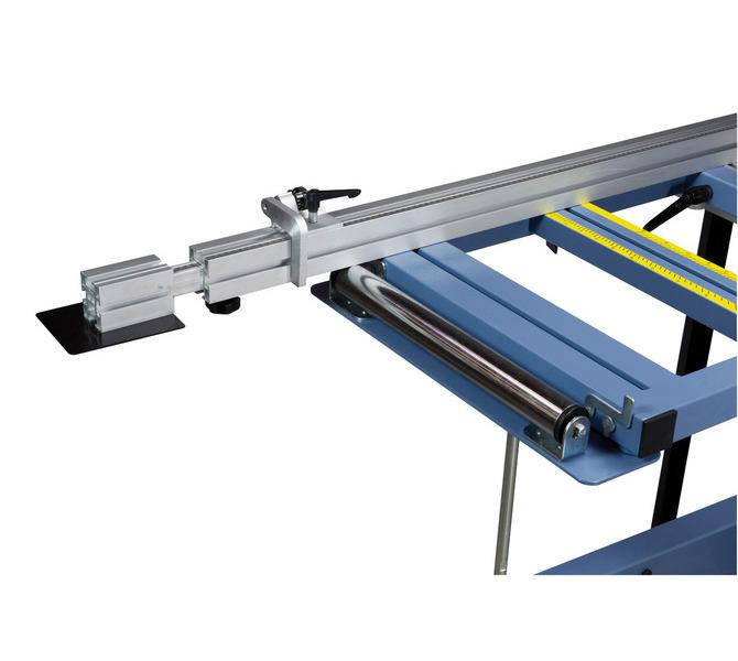 Stabilny stół wysięgnikowy z rolką pomaga w obróbce dużych przedmiotów. - 1235 - zdjęcie 3