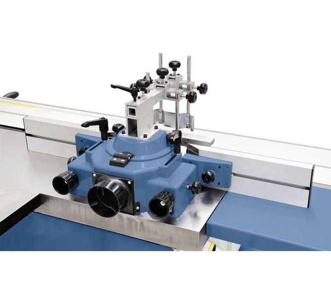 Aluminiowe szyny ograniczające można szybko i łatwo nastawić na wykorzystywane narzędzie frezarskie,... 1237 - zdjęcie 8