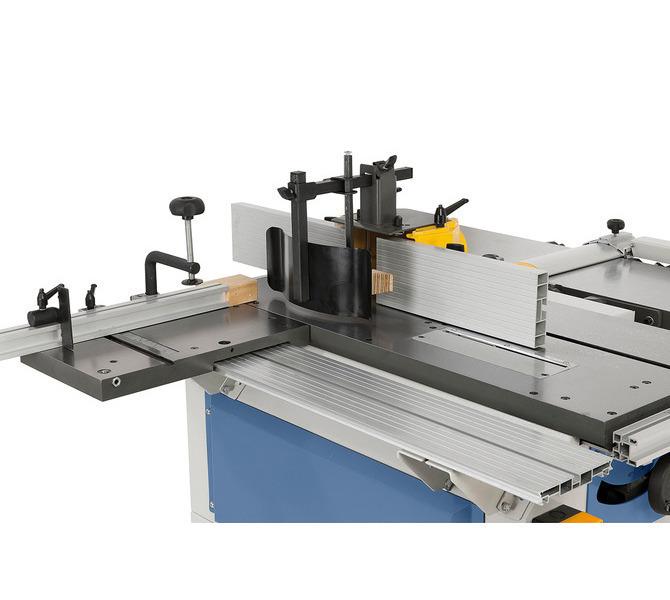Solidna kopuła ochronna frezarki może być wykorzystywana do narzędzi o średnicy do 140 mm. - 1241 - zdjęcie 4