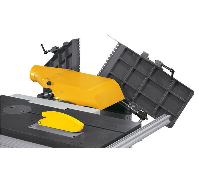 Dzięki składanym stołom bardzo szybka zmiana z wyrównywania powierzchni na strugania grubościowe. - 1241 - zdjęcie 6
