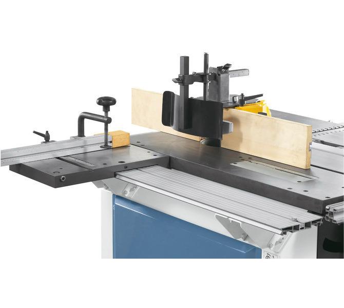 Solidna kopuła ochronna frezarki może być wykorzystywana do narzędzi o średnicy do 140 mm. - 1244 - zdjęcie 5
