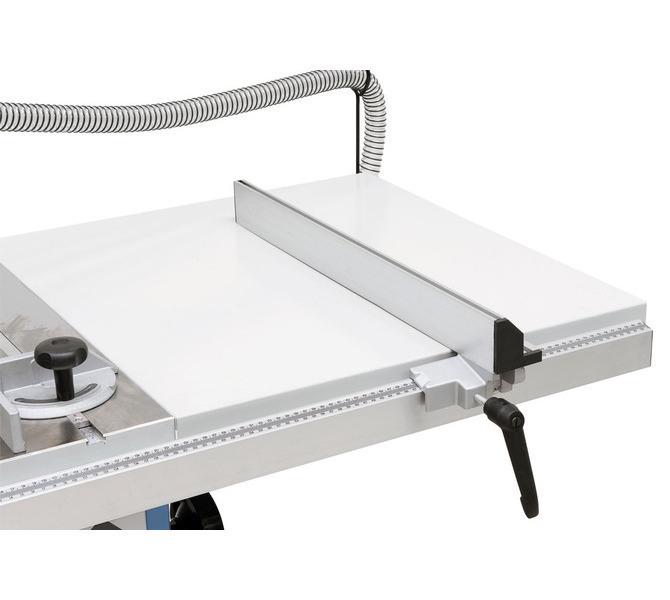 Poszerzenie stołu dla  szerokości cięcia do 750 mm zawarte w zakresie dostawy. - 1275 - zdjęcie 4