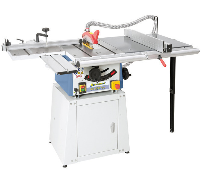 Widok TK 200 PRO w stół rolkowy, przedłużenie stołu i dolna część  maszyny zamknięta. - 1279 - zdjęcie 1