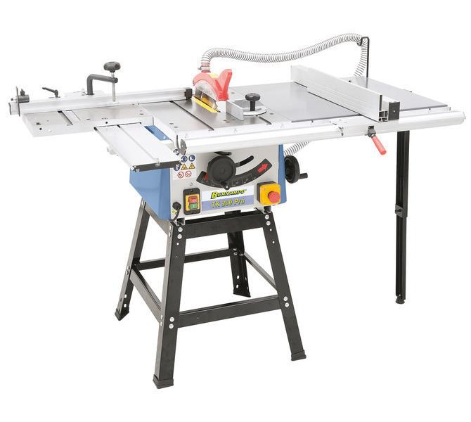 Widok TK 200 PRO w stół rolkowy, przedłużenie stołu i otwartą dolną częścią maszyny - 1279 - zdjęcie 2