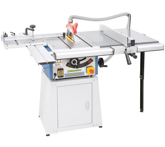 Widok TK 200 PRO w stół rolkowy, przedłużenie stołu i dolna część  maszyny zamknięta. - 1280 - zdjęcie 1
