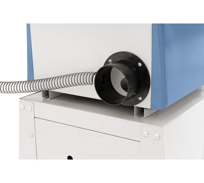 W celu zwiększenia komfortu pracy, do przyłącza węża o średnicy 100 mm można podłączyć odciąg. - 1279 - zdjęcie 9