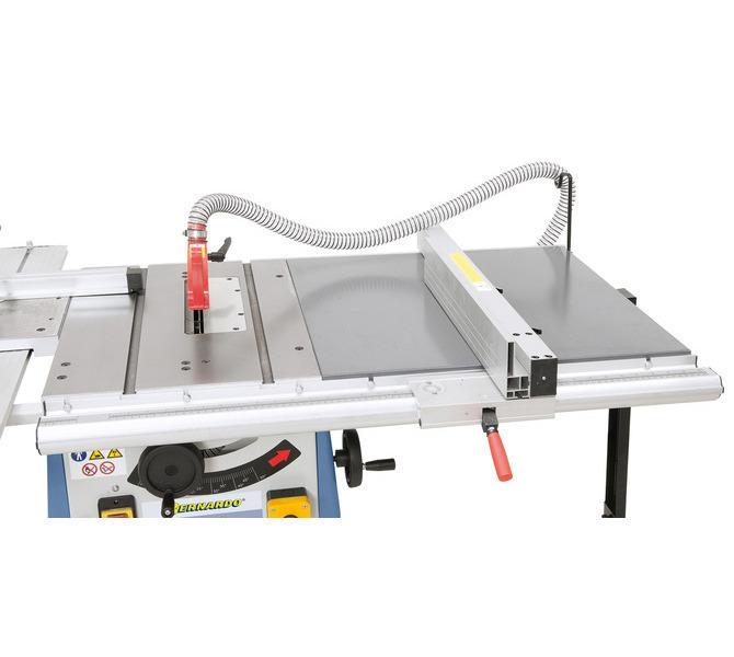 Opcjonalne przedłużenie stołu umożliwia szerokość cięcia do 725 mm. - 1280 - zdjęcie 5
