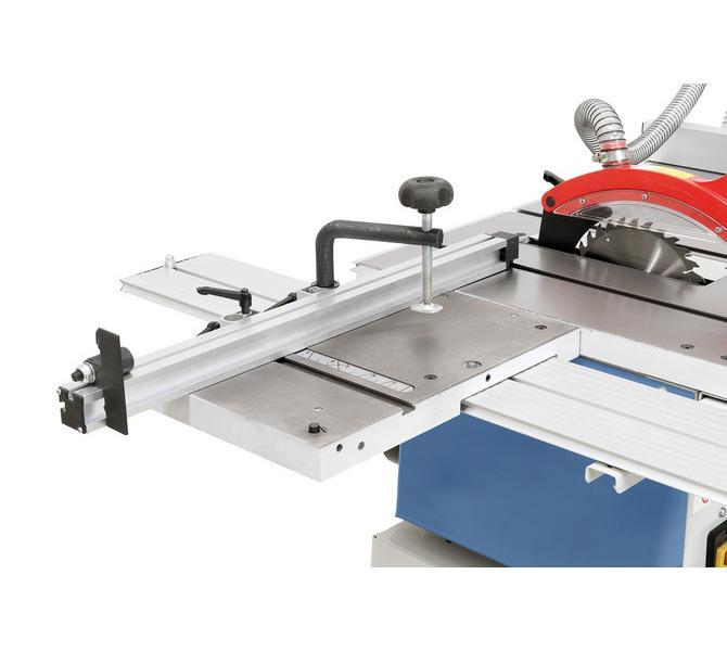 Większa wszechstronność zastosowania dzięki opcjonalnemu stołowi rolkowemu z wyciąganym aluminiowym... 1280 - zdjęcie 6