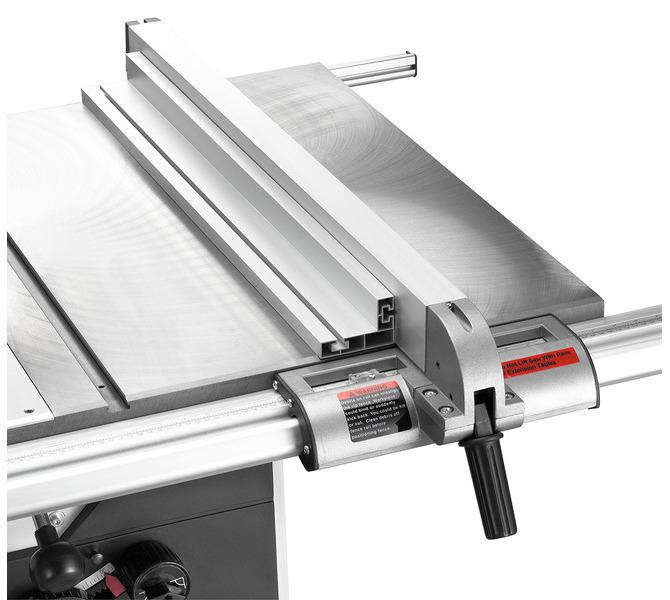 Z przesuwnym ogranicznikiem wzdłużnym i systemem szybkozaciskowym oraz rozszerzeniem stołu do 730 mm - 1285 - zdjęcie 4